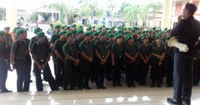 Kunjungan Sarcab Pa PK dan Secapa Pusdikkes TNI AD di Monumen Pancasila Sakti